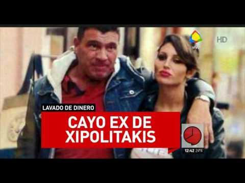 Detuvieron al exnovio de Vicky Xipolitakis por lavado de dinero