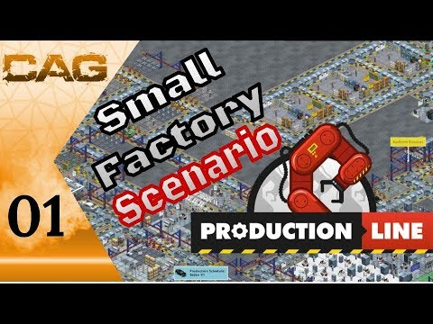 Lets Play: Production Line! || Small Factory Scenario Tutorial  || Ep 01: Getting Started