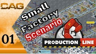 Lets Play: Production Line!    Small Factory Scenario Tutorial     Ep 01: Getting Started