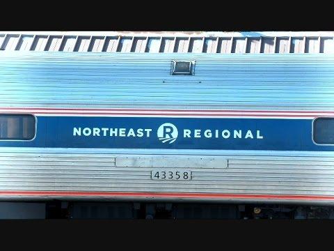 Norfolk Southern Train Passes Amtrak Pennsylvanian