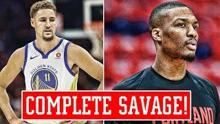 KLAY THOMPSON JINXES THE WARRIORS! LILLARD DESTROYS WESTBROOK.. AGAIN! LEBRON RIPS ESPN!