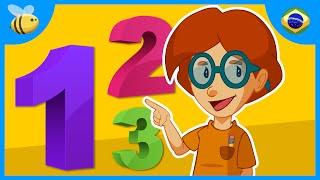 Aprenda os números: Contando de 1 a 20 | Vídeos Educativos para Crianças