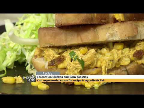Recipe: Coronation Chicken And Corn Toasties (WW)