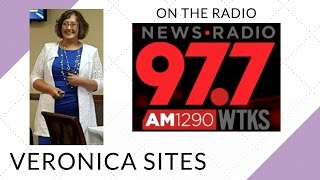 Live on the Radio in Savannah, Georgia | Veronica Sites