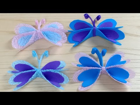 Foam Butterfly for Decoration | DIY Home Decor | Arts and craft