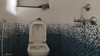"6'0""×3'4"" Bathroom design ! Tiles bathroom design! बाथरूम tiles डिज़ाइन"