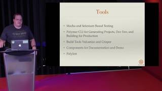 Polymer: A Framework for Web Components by Steven McFarlane