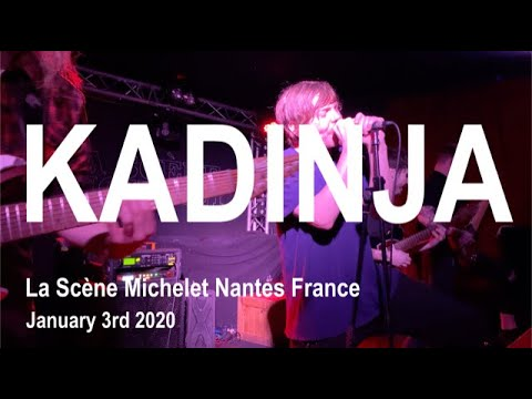KADINJA Live Full Concert 4K @ La Scène Michelet Nantes France January 3rd 2020
