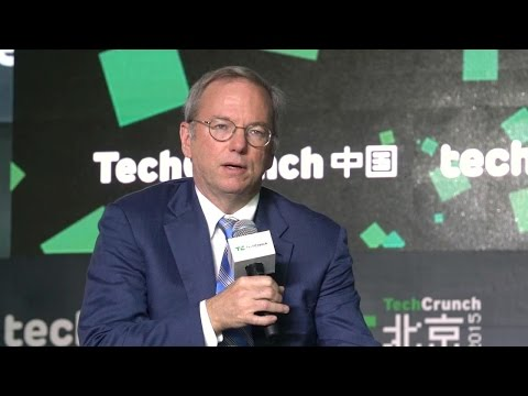 Eric Schmidt Talks China, Drones, Future of Android