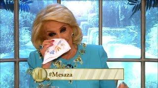 Mirtha Legrand se emocionó hasta las lágrimas con Ángela Torres YouTube Videos