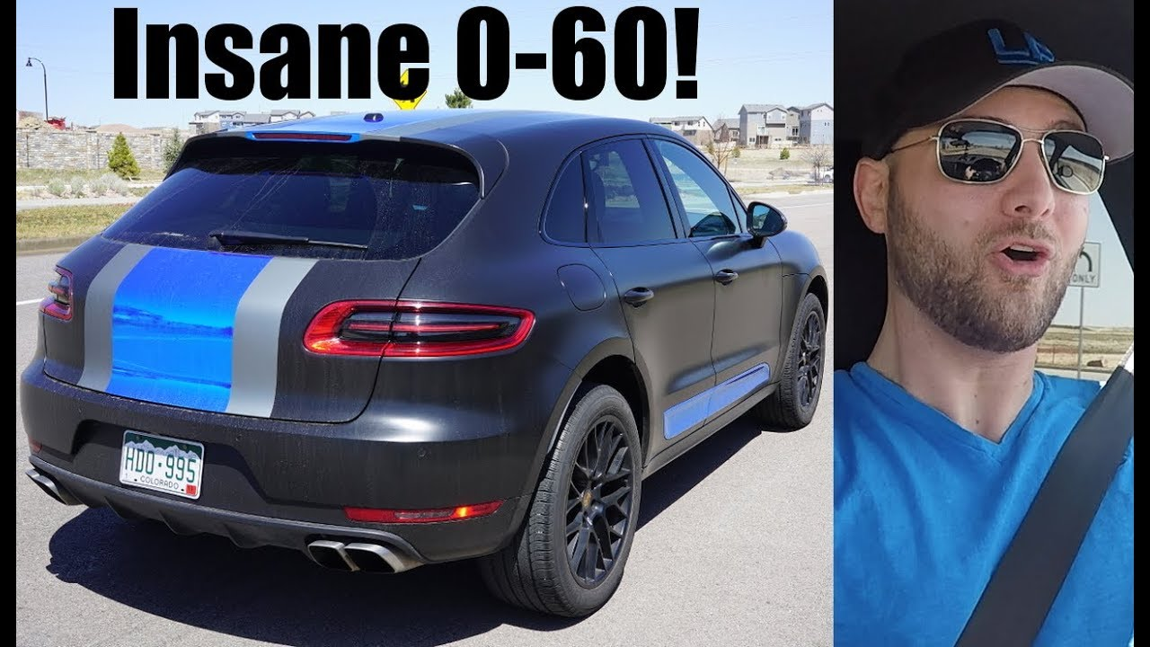 Tuned My Porsche Macan Turbo For 1200 Results Are Insane Youtube