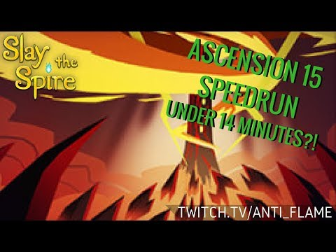 Slay the Spire Speedrun - Ascension 15 in Sub-14