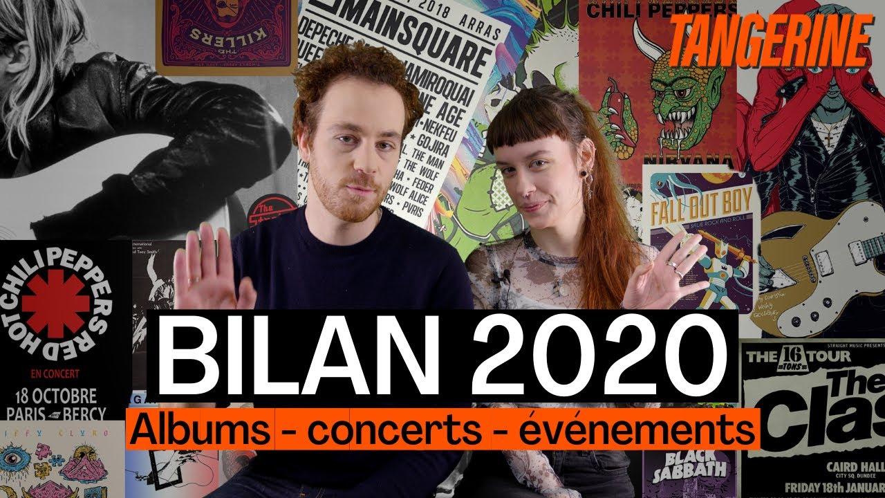 Bilan 2020 en musique : meilleurs albums et événements | TANGERINE