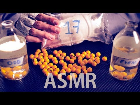 [ASMR] French & English COUNTING to 50 Marbles - 🌙 1 HOUR Sleep AID 🌙