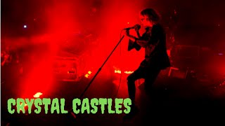 Crystal Castles - Plague - Roseland Ballroom NYC
