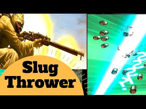 The Guns of Star Wars - SLUG-THROWER Weapon Lore - Star Wars Canon & Legends Explained