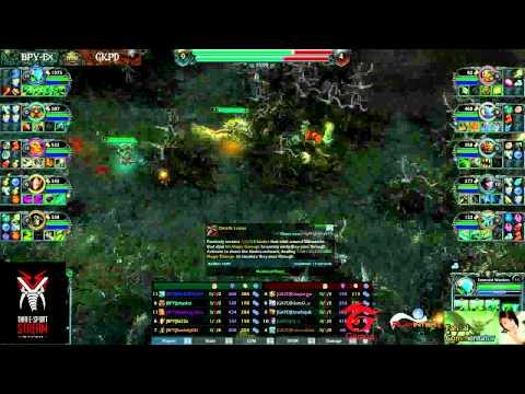 HoT Tournament Round 1 (BPY-ex Vs GKPD) Comment By Anuridz & Fahsai