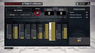 NBA 2K17 Glass Cleaner Build | Rebounding Center/ Ultimate Center