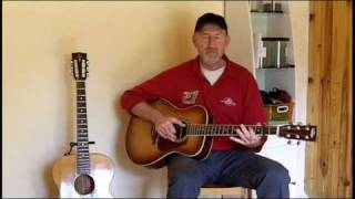 Jim Bruce Blues Guitar - Careless Love - Blind Boy Fuller (Jim Bruce Cover)