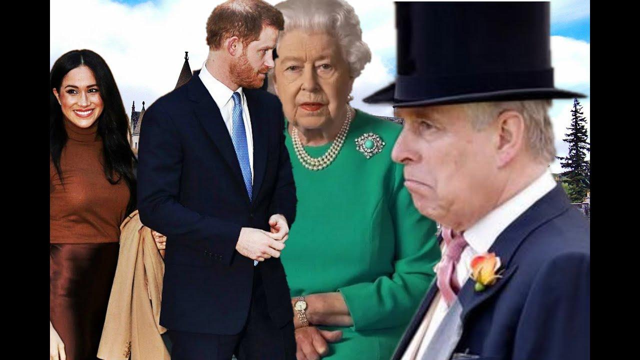 ✅La reina Isabel borra a Andrés de York y a los Sussex de la Casa Real👑🖐