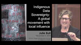 2018 Dr.  Peggy Hill Memorial Lecture in Indigenous Health: Julie Bull