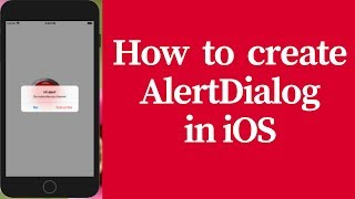how to create alert dialog in ios (bangla)
