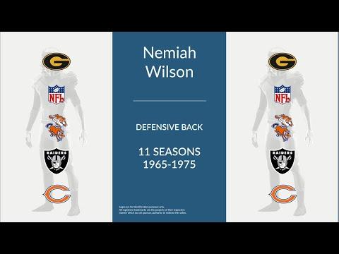 Nemiah Wilson: Football Defensive Back