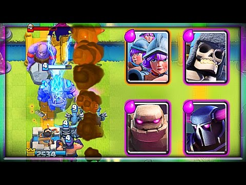 Can We Win With 10 Elixir Decks?! • Clash Royale