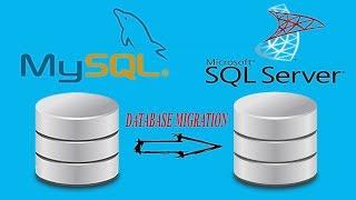 "How to Migrate MySql database to Sql Server ""EASY"""