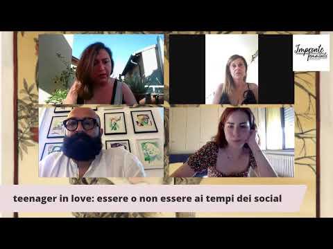 TEENAGER IN LOVE con Silvia MORELLI e Giovanni DI BARI modera Clelia RAFFAELE