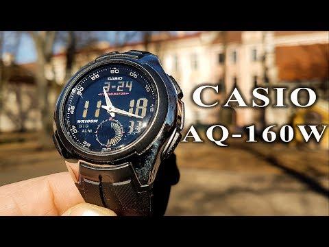 Casio AQ-160W Review #125 #casio #casiowatch