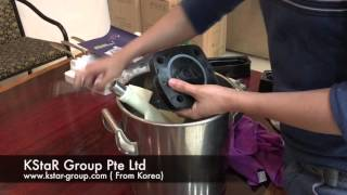 How to clean soft serve ice cream machine 3118Y