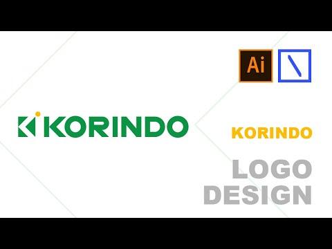 KORINDO Logo Design | Adobe Illustrator Tutorial thumbnail