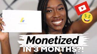 MONETIZED IN 3 MONTHS!? How I Made Money FAST + Tips on YouTube Monetization 2020 | Liv Celene