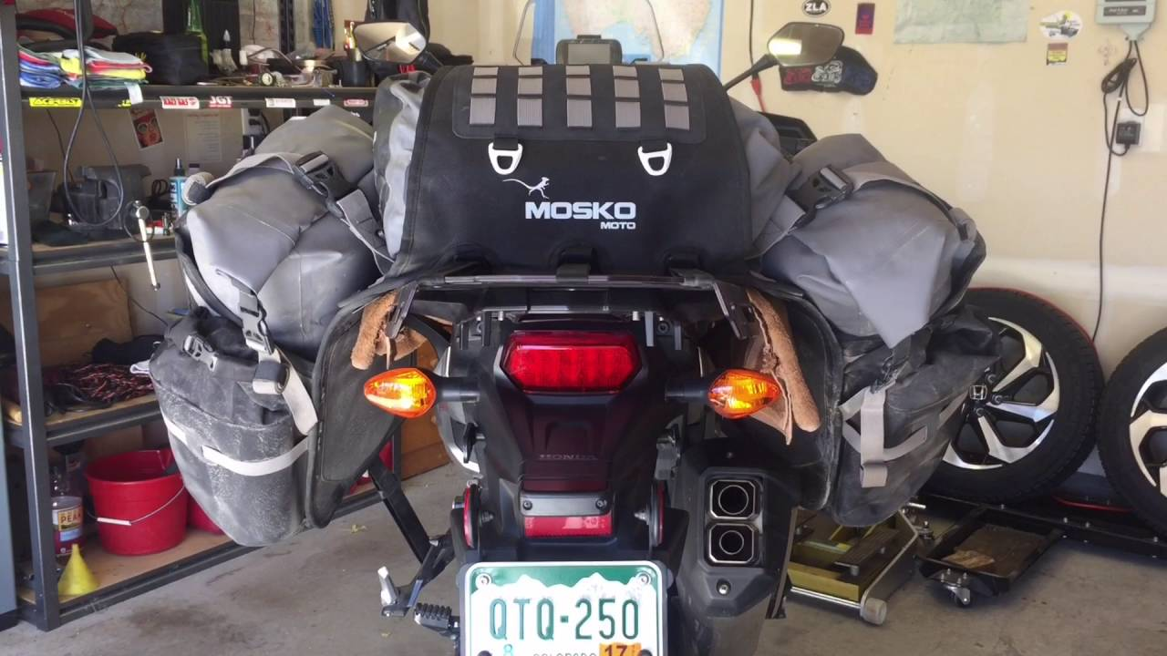 Honda Crf 80 >> Mosko Moto Reckless 80 Africa Twin Mounting Tips - YouTube
