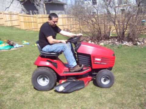 how to change blades on riding mower without removing deck