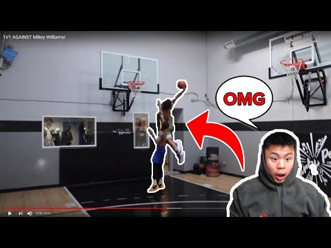 FLIGHT GETS DESTROYED IN 1v1 BASKETBALL AGAINST 15 YEAR OLD MIKEY WILLIAMS!