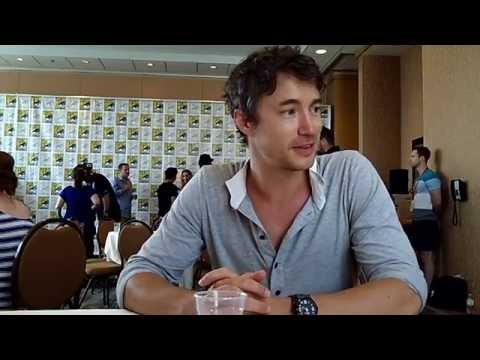 With Tom Wisdom of Syfy's Dominion at ComicCon 2014