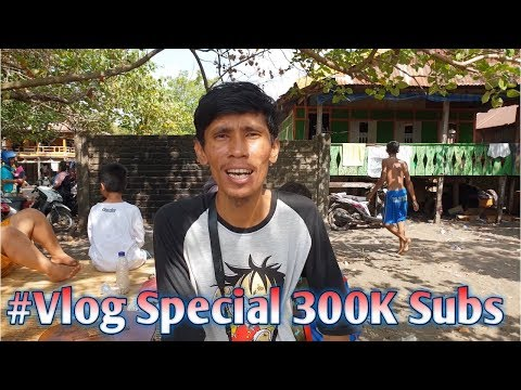 #4 Vlog Weekend at Tanjung Bayam Makassar Special 300K Subscriber - 동영상