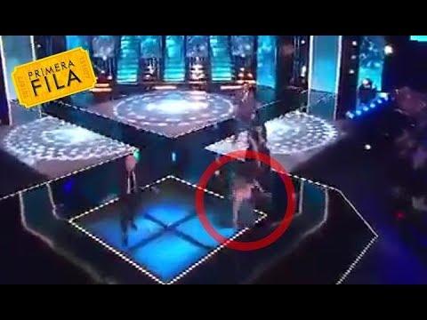 Rebeca De Alba tropieza en el escenario de Mexicana Universal