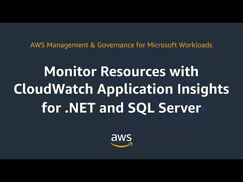 Monitor Resources With Cloudwatch Application Insights for .NET and SQL Server