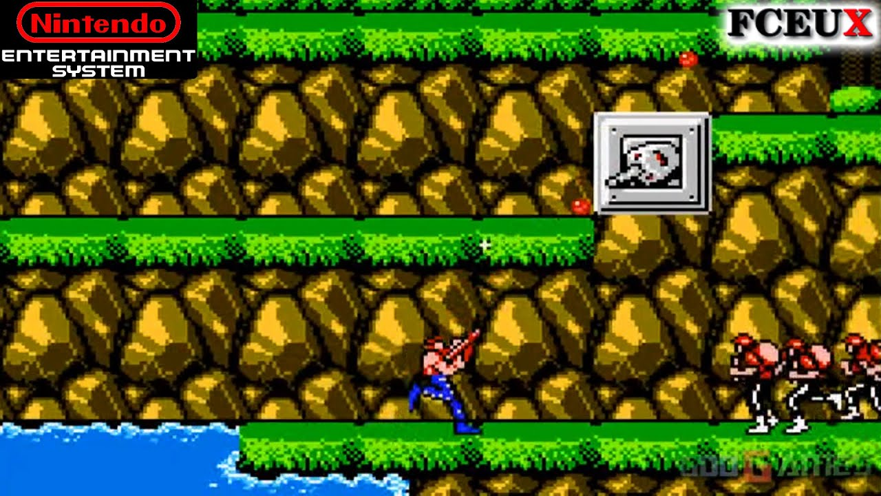 Contra - NES Gameplay RETRO (FCEUX) - YouTube