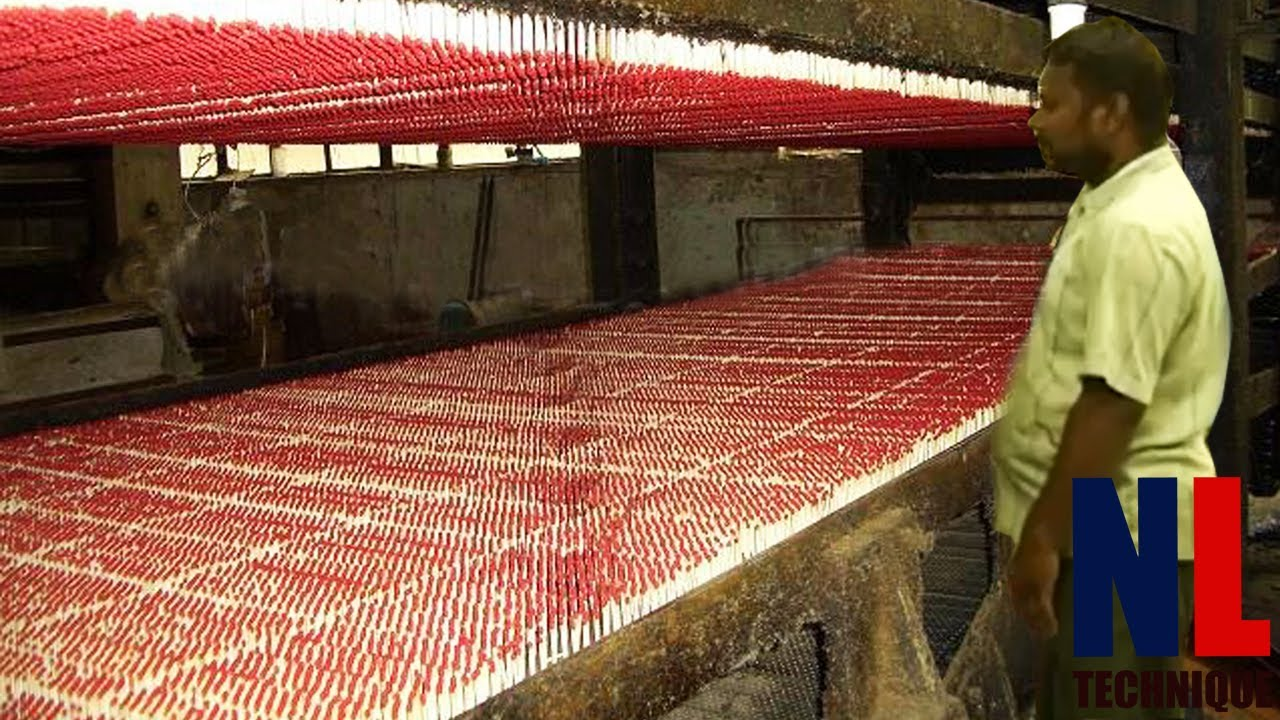 Amazing Matches Production Process - Inside India Match Factory