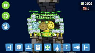 Bad Piggies - HIDING 4 DIFFERENT KING PIG AND 4 DIFFERENT MIGHTY EAGLE
