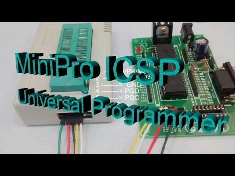 Universal Programmer Minipro ICSP model
