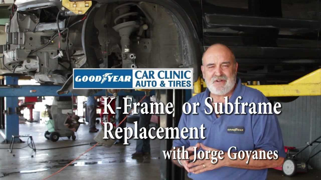 K-Frame or Subframe Replacement - YouTube