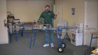Www.trojantools.com  Miter Saw Stand - Us Made