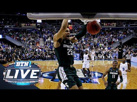 Kenny Goins Talks Game-Winning Basket And More | Michigan State | B1G Basketball