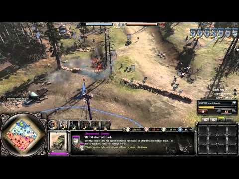 Company of Heroes 2 Western Armies #1 OKW/Wrh vs USA  