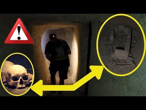 EXPLORATION INTERDITE EN ÉGYPTE - Saqqarah ou le Sarcophage Oublié!
